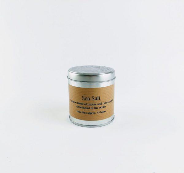 st eval sea salt tin candle