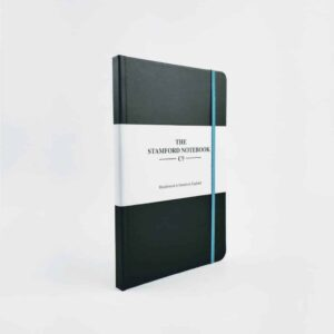 Vibrant Buckram Black Notebook