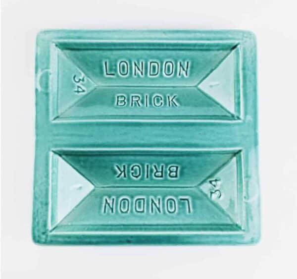 Blue London Brick Dish