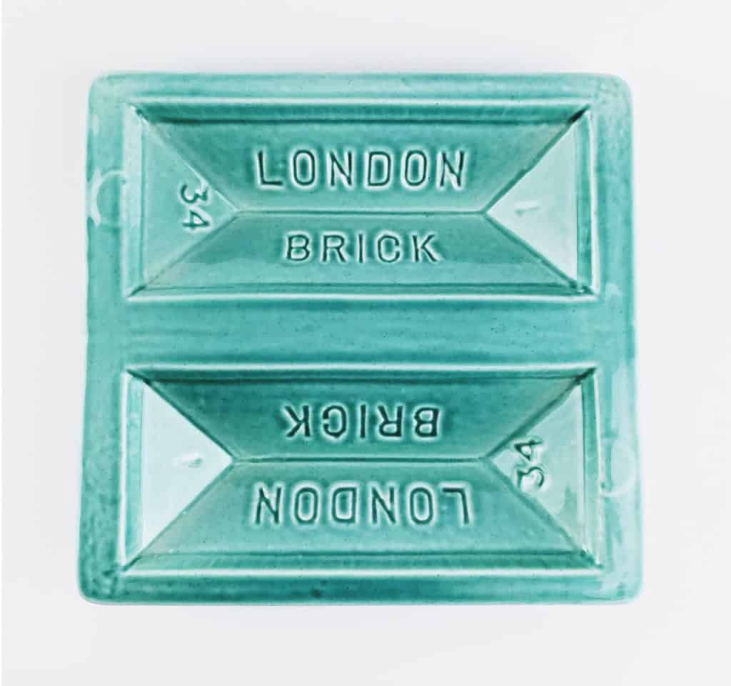 stolen form blue london brick dish 2 - British made luxury handcrafted unique gifts for him