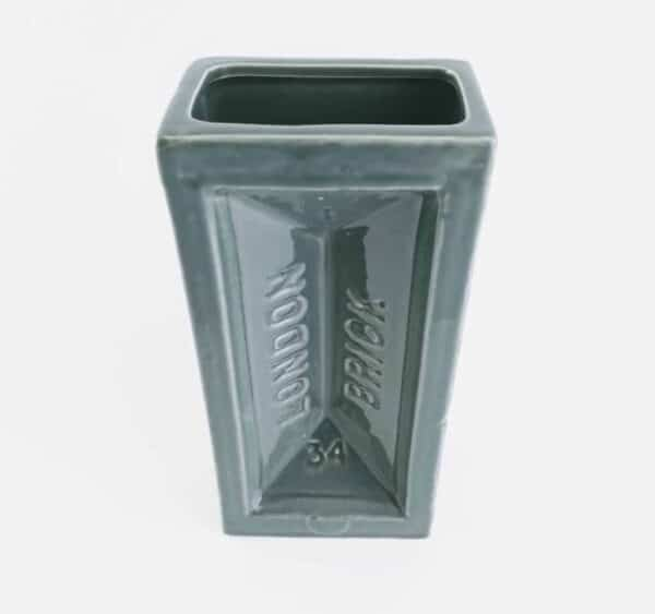 Stolen Form London grey brick vase