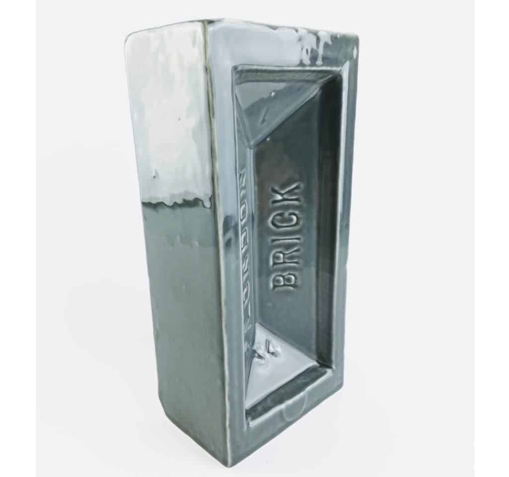 stolen form grey london brick vase 3 - British made luxury handcrafted unique gifts for her