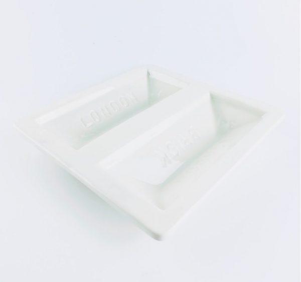 stolen forn White London Brick Dish