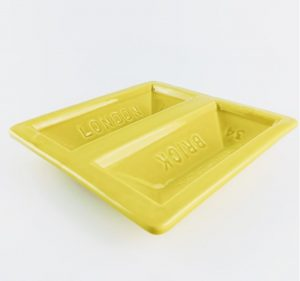 Yellow London Brick Dish