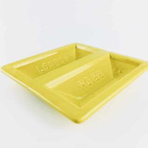 stolen form yellow london brick dish