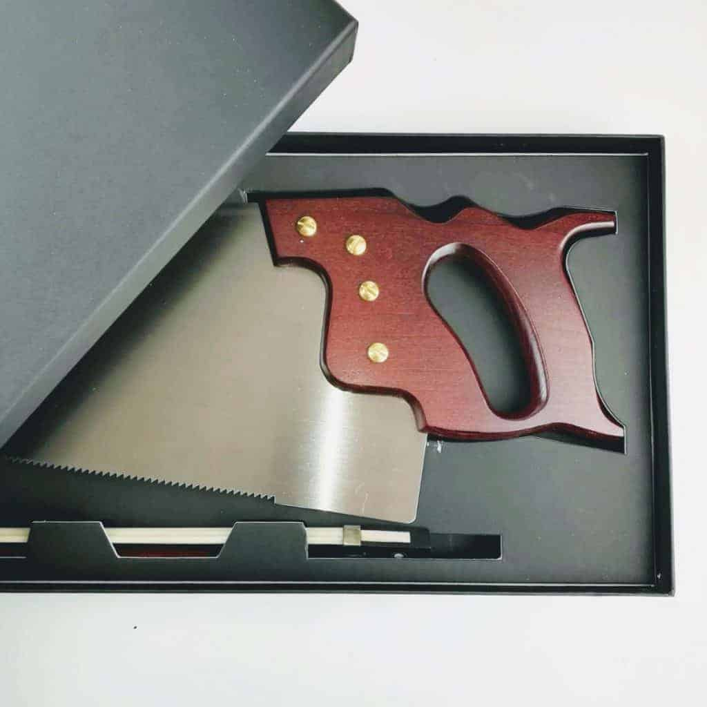 thomas flinn parkstone musical saw 2 - British made luxury handcrafted unique gifts for him