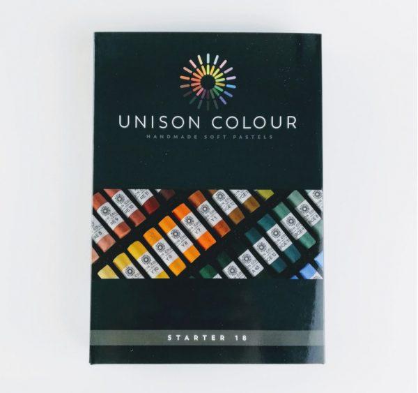 pack of 18 unison colour art pastels