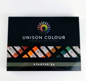 pack of 36 unison coloured art pastels