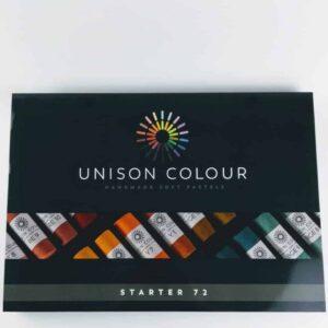 unison colour classic 72 soft pastel set, large soft pastel artists set made in Northumbria finest artist pastels