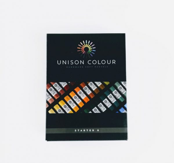 pack of 8 colour pastels from unison colour