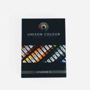 unison colour classic 8 soft pastel set. artist soft pastel set, colour pastels handmade in northumbria
