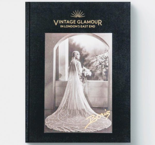 Vintage glamour book with photgraphy from East london in the 1920s