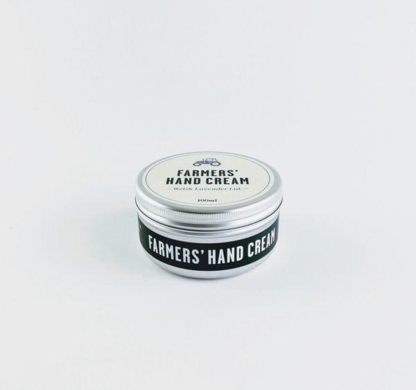 tin of farmers' hand cream