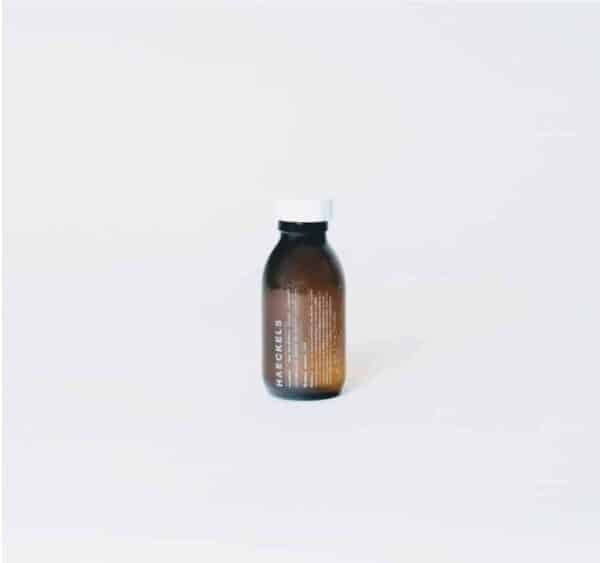 bottle of haeckels seaweed and sea buckthorn facial cleanser