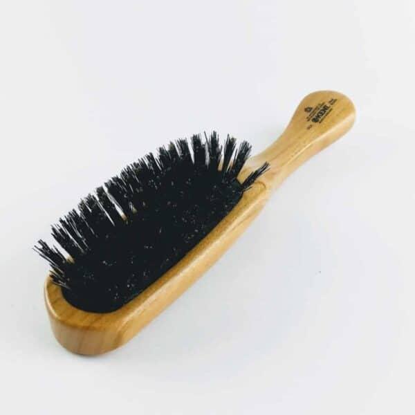 kent Cherry Wood Cushion Hair Brush