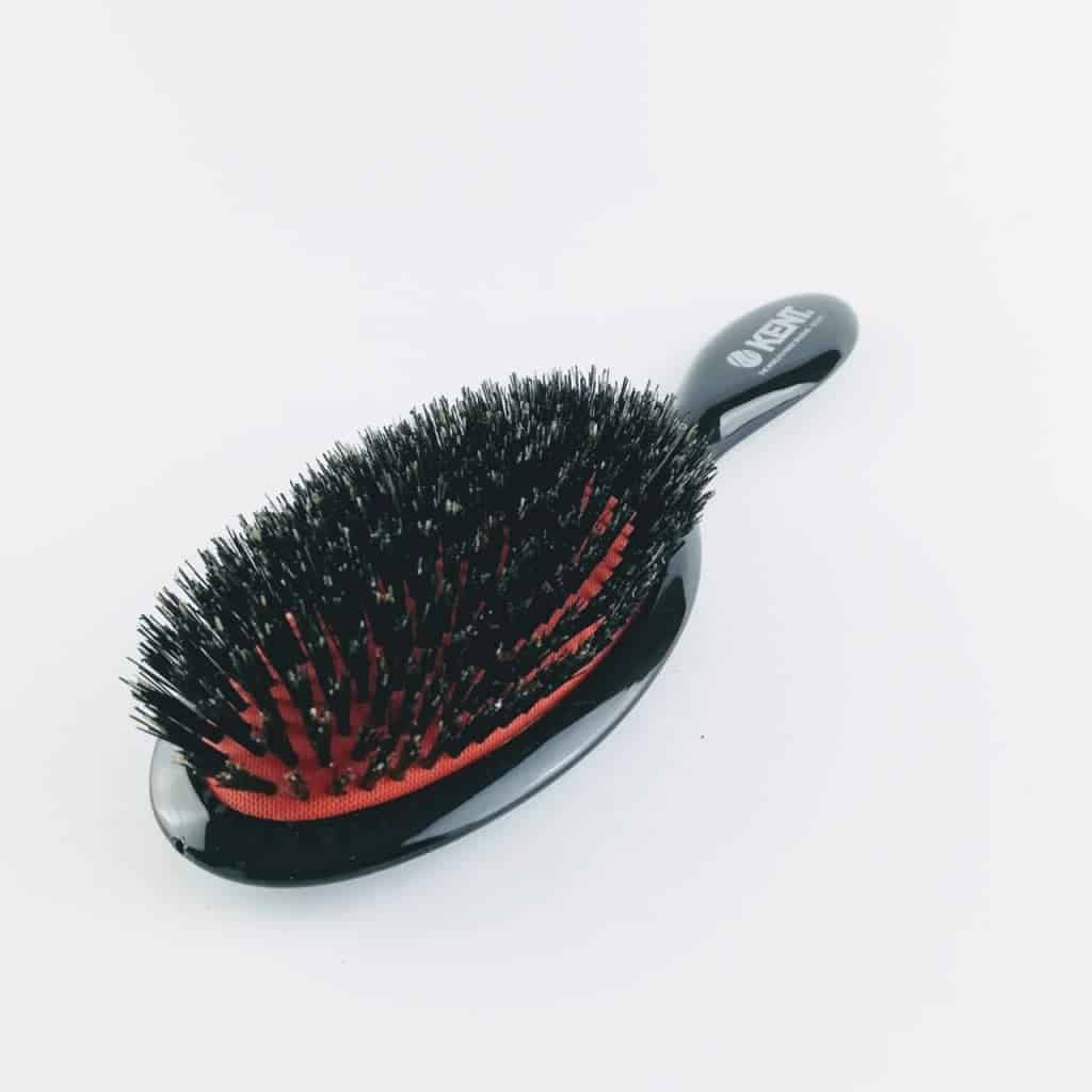 kent brushes cushioned natural bristle hair brush 1 - British made luxury handcrafted unique gifts for her