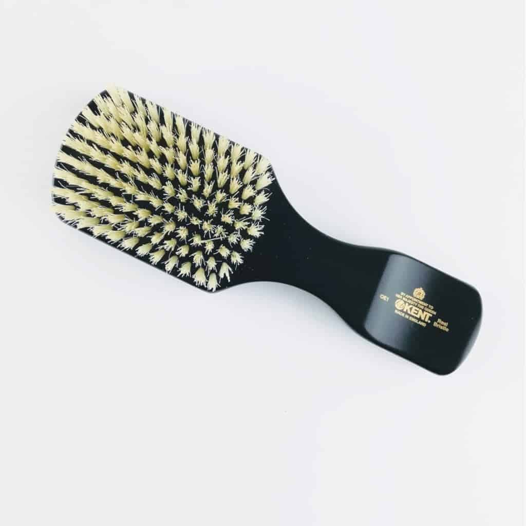 kent brushes ebony club hair brush 3 - British made luxury handcrafted unique gifts for him