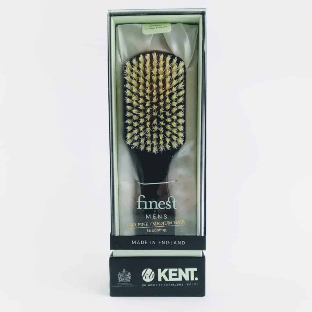 kent brushes ebony club hair brush 4 - British made luxury handcrafted unique gifts for him