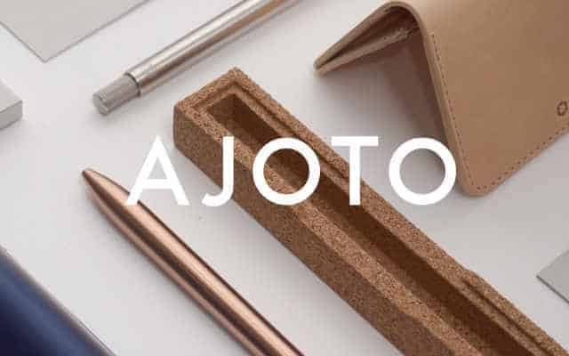 Ajoto pens brand lock up