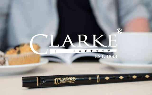 Clarke original tinwhistle brand lock up low res - British Brands