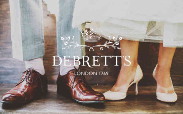 Debretts brand lock up low res - British Brands