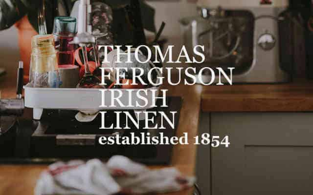 Ferguson Irish Linen brand lock up low res - British Brands