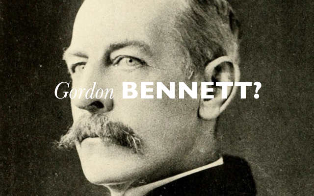 Gordon Bennett blog header low res