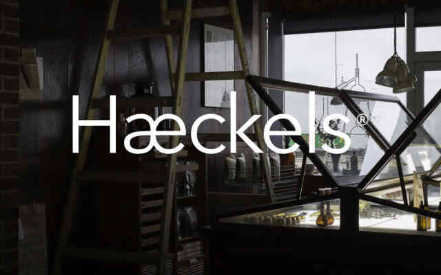Haeckels of Margate brand lock up low res - British Brands