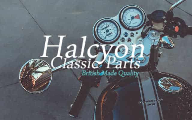Halcyon Goggles brand lock up low res - British Brands