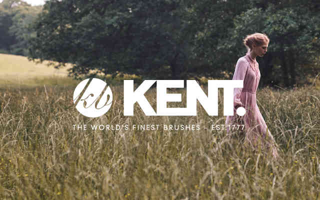 Kent Brushes brand lock up low res - British Brands