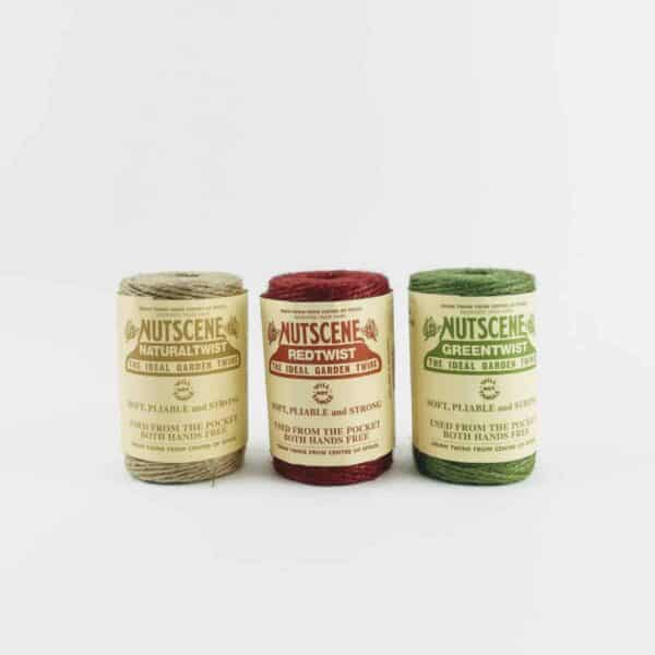 nutscene Heritage Twine Collection red, green and natural