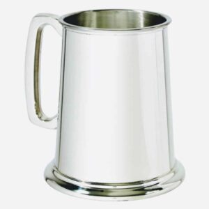 wentworth pewter 1 pint pewter tankard, wentworth pewter one pint silver tankard made in sheffield