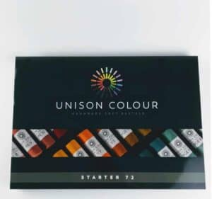pack of 72 unison colour pastels