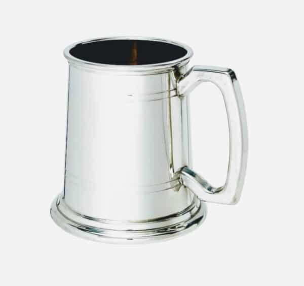 Handcrafted Pewter Tankard