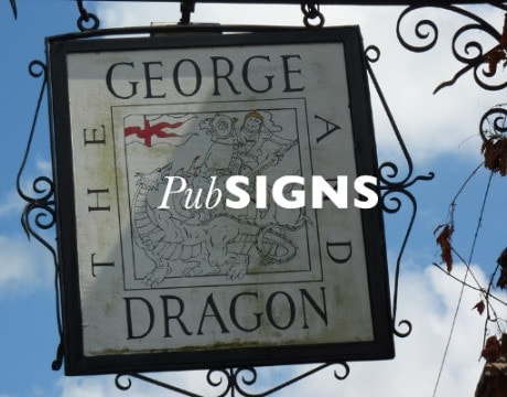 pub sign header home page - Home