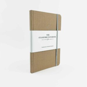stamford notebooks fawn woven cover