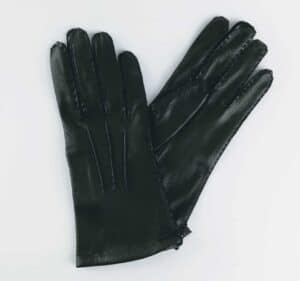 chester jefferies black city gent leather gloves