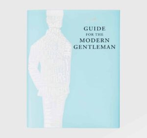 light blue debrett's guide for the modern gent coffee table book