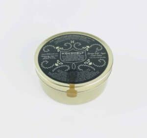 Tin Of British Made Luxury Salt Scrub