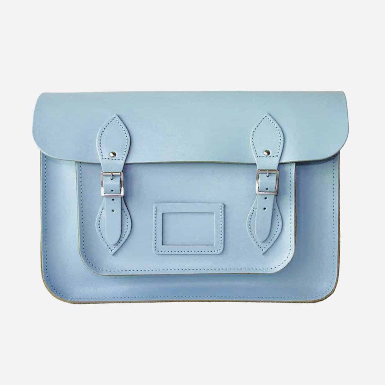 Blue satchel 1240x1240 - Britain Calling - History of design icon.