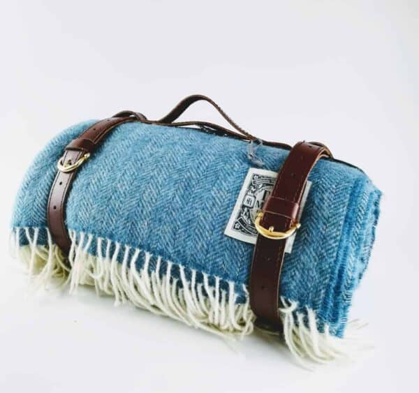 Handcrafted Wool Picnic Blanket Tolly McRae