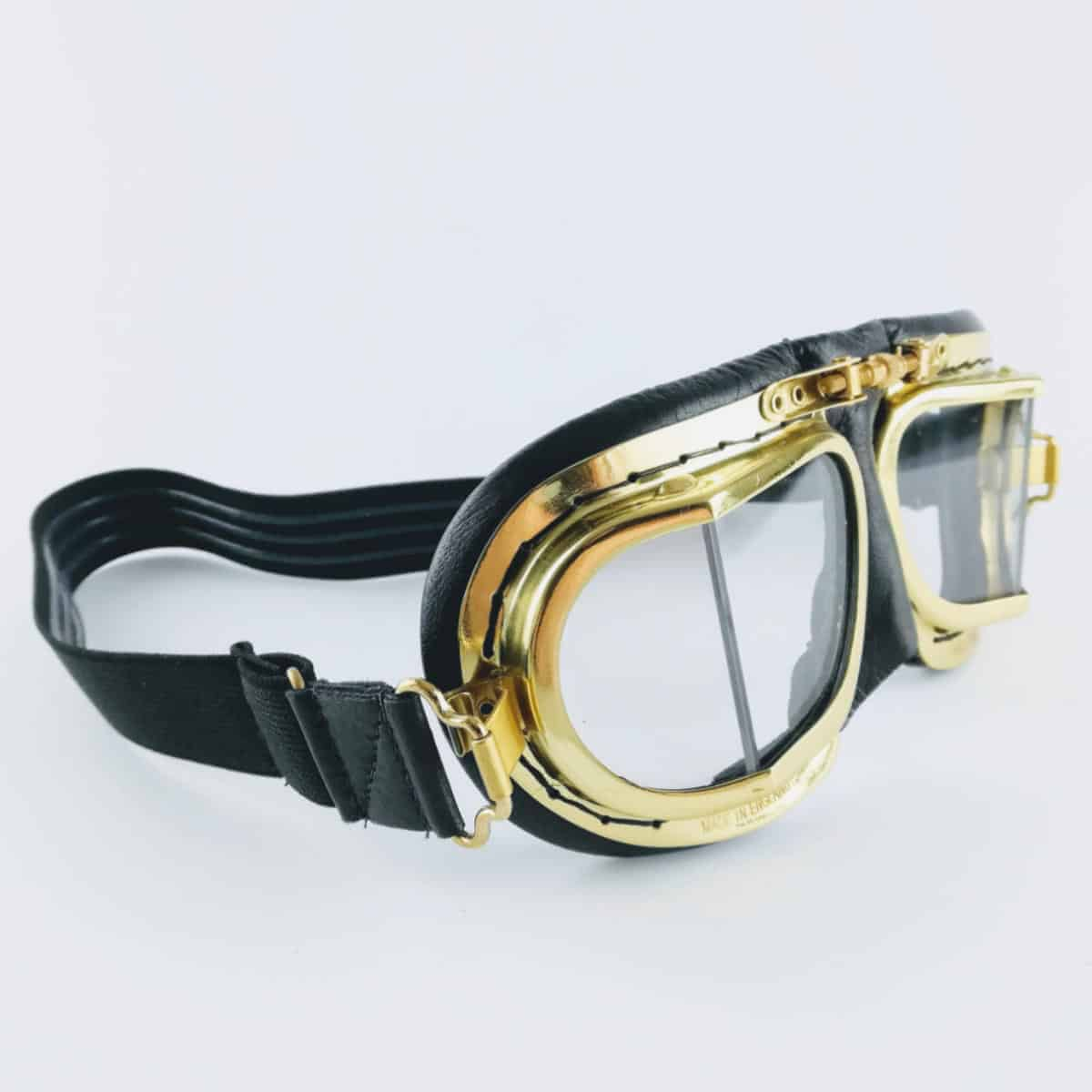 Brass goggles - British made luxury handcrafted unique gifts for him