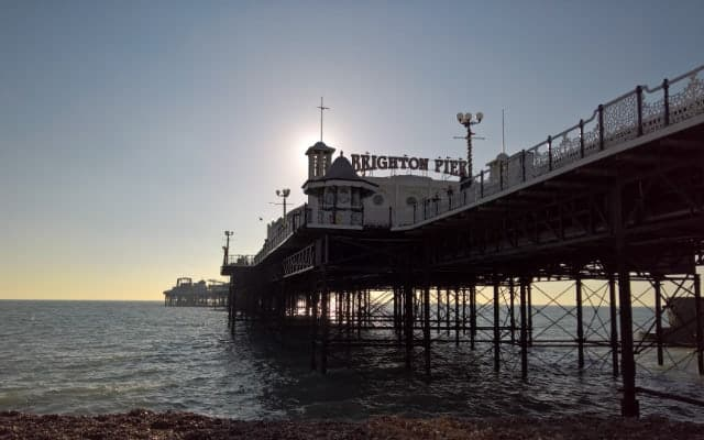 Brighton Pier blog small image 640 x 400 - British Piers - Peering into the history of piers.