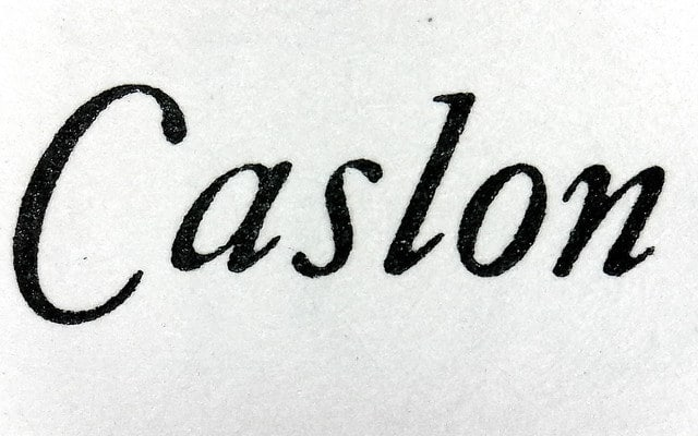 Caslon blog small image 640 x 400 - British Typography - Just Our Type
