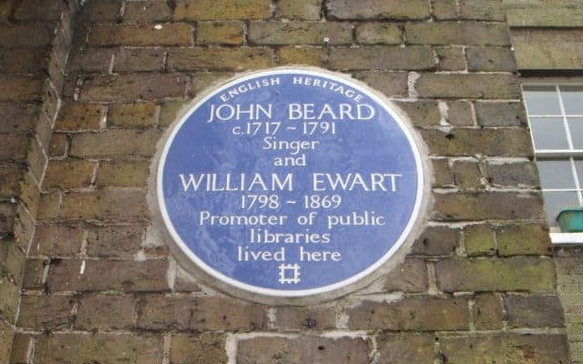 Ewart blog small image 640 x 400 - Blue Plaque - The Writing is on the Wall