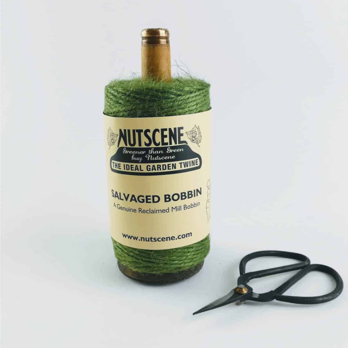 Green bobbin - British made luxury handcrafted unique gifts for her