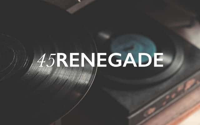 45 Renegade brand lock up - British Brands
