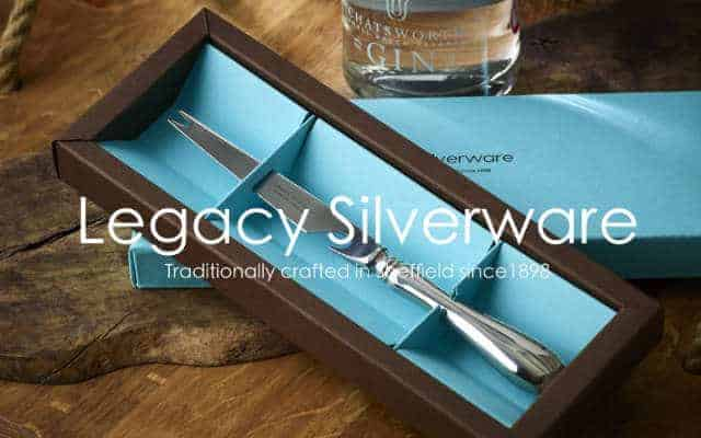 legacy silverware, silver cutlery and silverware gifts made in sheffield