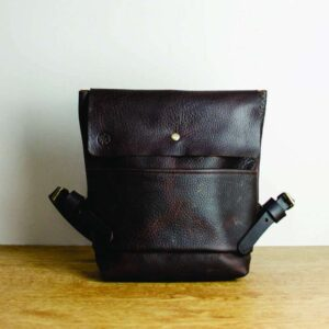 Kodiak Brown Leather Backpack