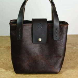 Kodiak Leather Tote Handbag